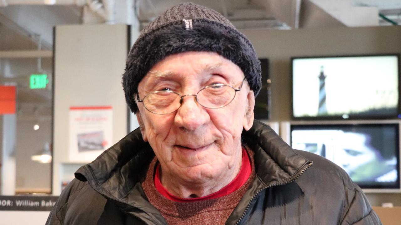 Former Alcatraz prison inmate William Baker spoke to news.com.au on the island.