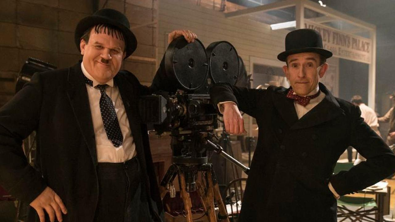 John C. Reilly and Steve Coogan in a scene from Stan & Ollie.