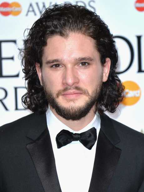 Sleek and sophisticated Kit Harrington IRL. Picture: Getty Images