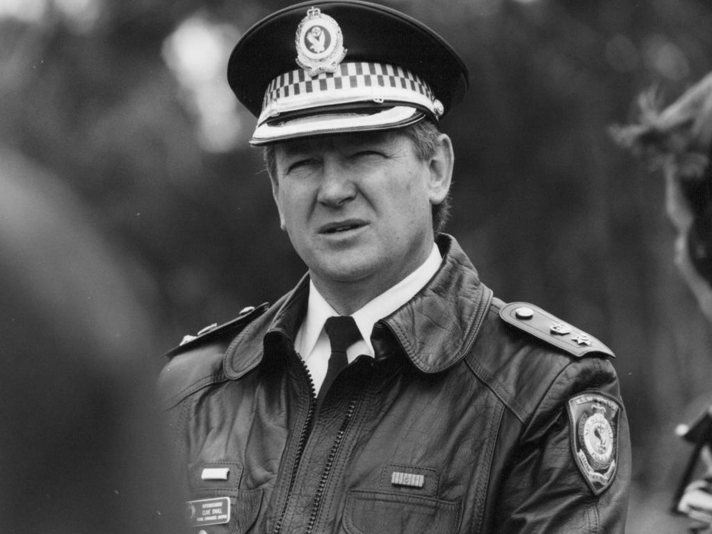 Clive Small, former NSW police superintendent, and the head of Backpacker Murders task force in the early 1990s.