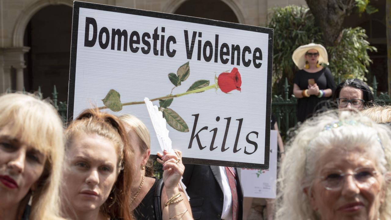 People are dying at the hands of violent men at horrific rates. Picture: AAP Image/Glenn Hunt
