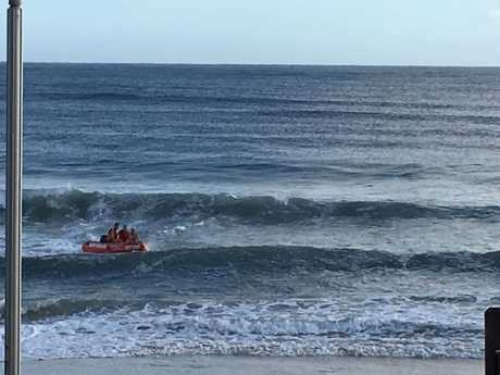 A man has been taken to hospital after a shark attack at Byron Bay today. Beaches are closed at Byron Bay for 24 hours.