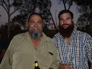 Rick Kilgour and Rob Ryan at Ironpot's Reef 'n' Beef