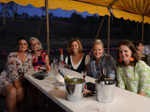 Friends gather for a night of delicious food at the