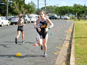 Neralie Stuart competes in the Sonya Brazil Memorial