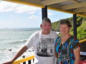 MENTAL SCARS: Sarina Beach residents Hedley Hughes