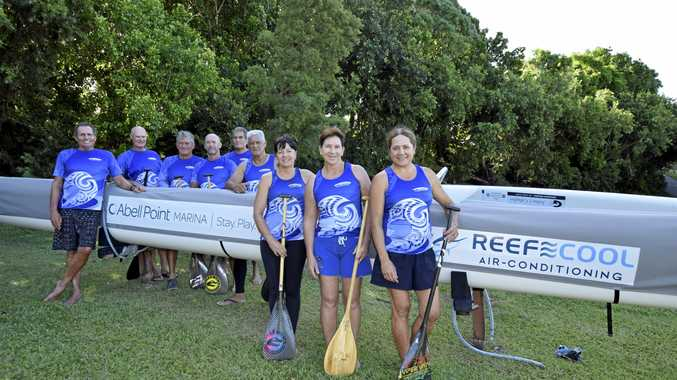 PADDLE PUSHERS: Test yourself with the Club Whitsunday Outrigger four-week challenge.
