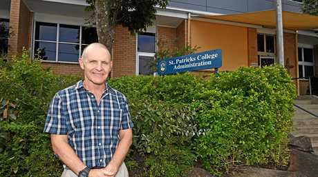 HIGH ACHIEVERS: St Patrick's College, led by principal Mark Newton, was the region's highest performing school in OP results last year.