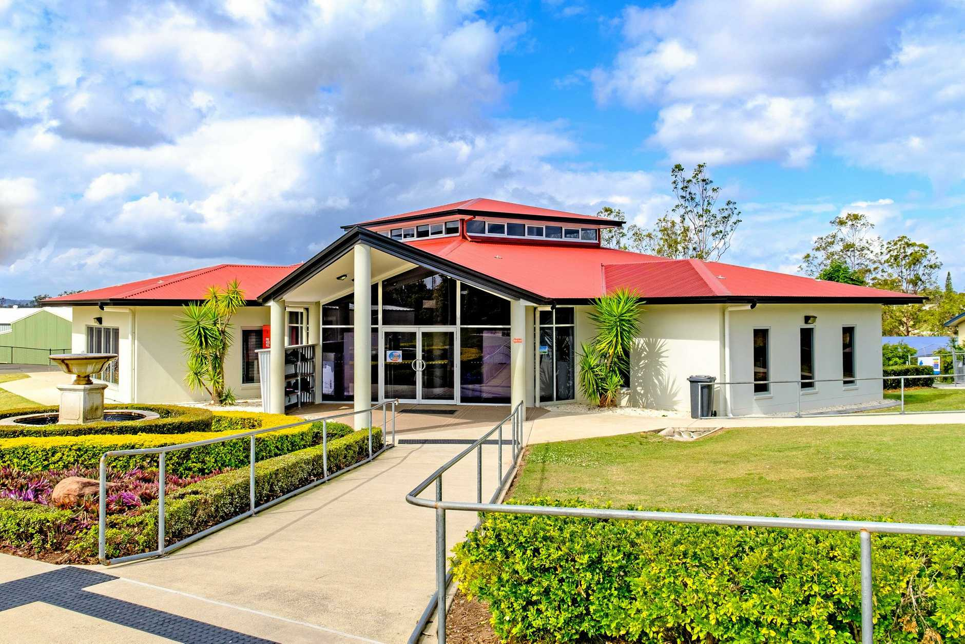 The Victory College library, which was opened in 2010. Gympie region schools have punched way above their weight to make this the best performing regional centre in Queensland when it comes to OP results.