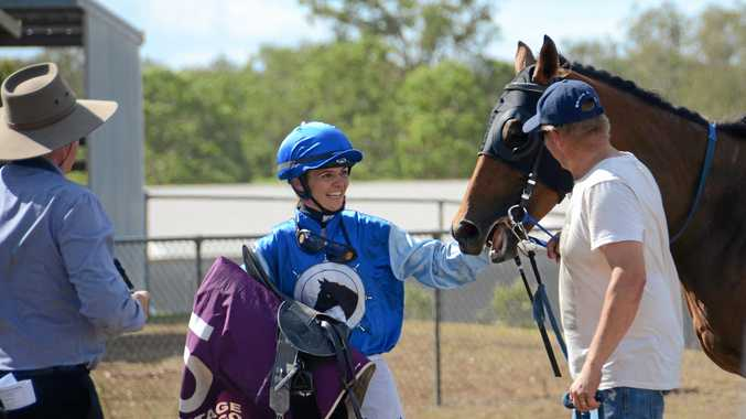 Grinning for gold: Nanango Races' unexpected win