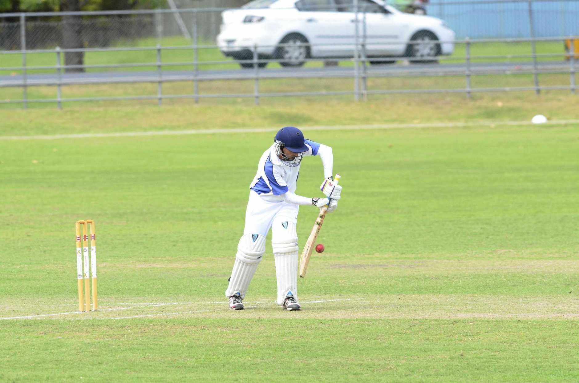Andrew Buchanan batting for Tucabia Copmanhurst.