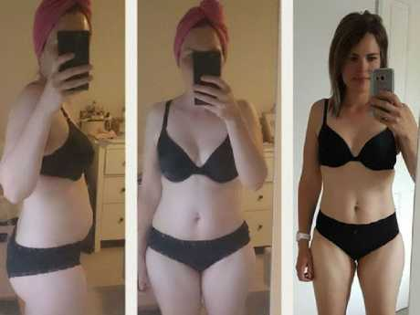 She said while her journey has taken two years, it has been worth not only the physical, but more importantly the positive mental transformation.