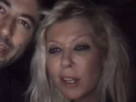A dazed Tara Reid looks dazed and worn out in the video she posted to Youtube.