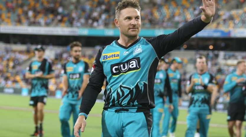 Brendon McCullum waved goodbye to the Brisbane Heat after the conclusion of BBL 08 - he'll be much missed by SuperCoach players