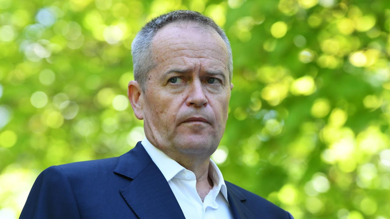 The latest poll result shows Opposition Leader Bill Shorten is a significant drag on the Labor Party vote. Picture: AAP /James Ross