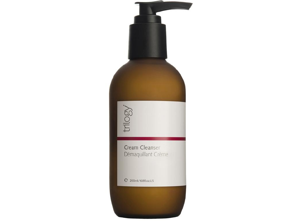 Trilogy's Cream Cleanser is a great budget option.