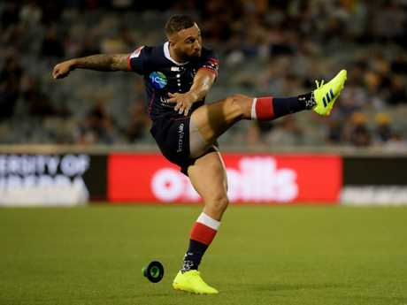 Quade Cooper now must back up his good opening round form in the next round against the Hurricanes. Picture: Getty Images
