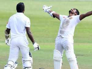Sri Lankan 'Superman' leads astonishing Test match upset