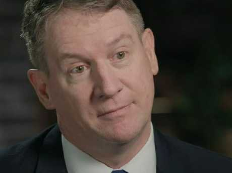 Lawyer Stephen Page is critical of Joe Donor's private sperm donation. Picture: 60 Minutes