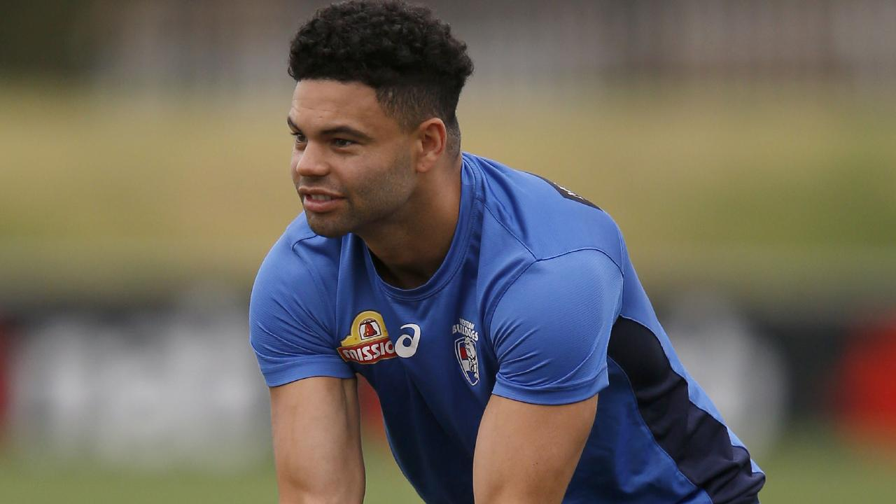 Jason Johannisen is in doubt for Round 1. Picture: Getty Images