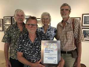 Michael Murphy, David Kemp with Nan and Hugh