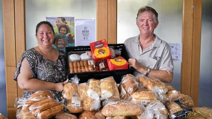 Where struggling families can pick up free bread