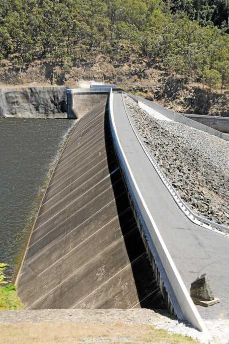 Borumba Dam WallPhoto Craig  Warhurst / Gympie Times