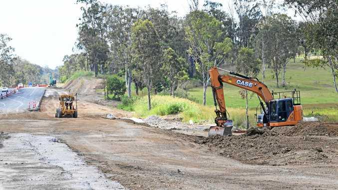 Barcaldine's $2.09 million Barcaldine - Aramac Road upgrade.