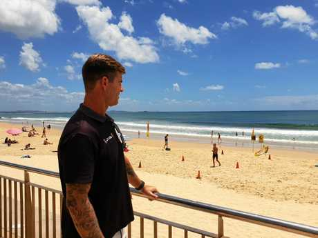 Surf Lifesaving Queensland Sunshine Coast lifeguard supervisor Rhys Drury said waves could break to heights greater than 10 feet this week.