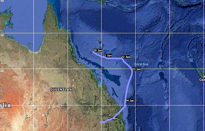 In 1974 Cyclone Wanda smashed into south east Queensland causing the infamous Brisbane floods that left 16 people dead.