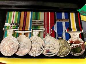 Army medals returned to thankful war hero