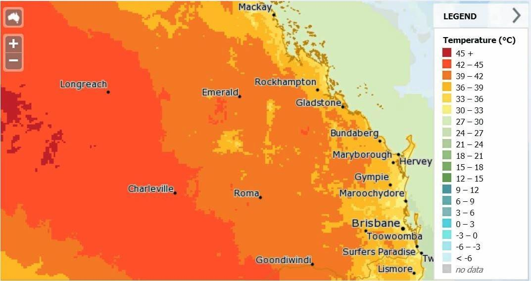 Heatwave conditions experienced last week are set to return today.