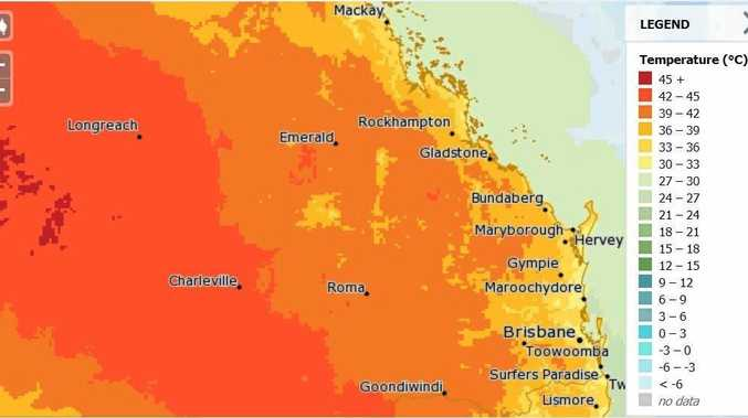 Midweek heatwave set for Biloela