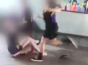 DISTURBING VIDEO: Shocking footage of Bundy school brawl