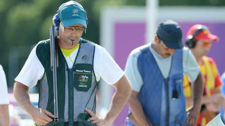 Michael Diamond just couldn't find his range at the 2012 Games. Photo: AAP Image/Tracey Nearmy