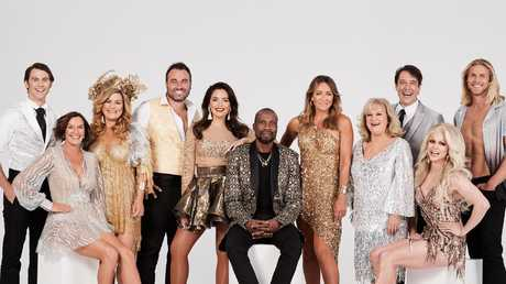 Thorburn (second from left) is set to appear in the new season of DWTS. Picture: Ten