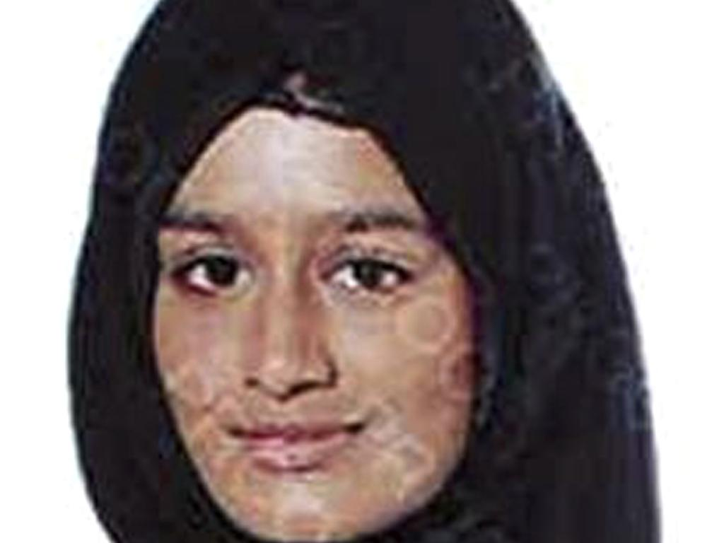 When she was 15 Begum ran away from Britain to join Islamic State extremists in Syria. Now she wants to come back to London, but her path home is not clear. Picture: AP