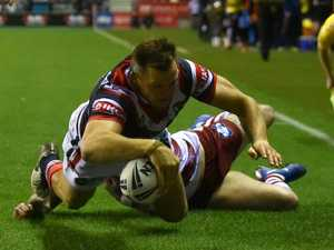 Morris hat-trick on Roosters debut stuns Wigan