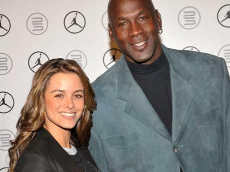 Yvette Prieto and Michael Jordan.