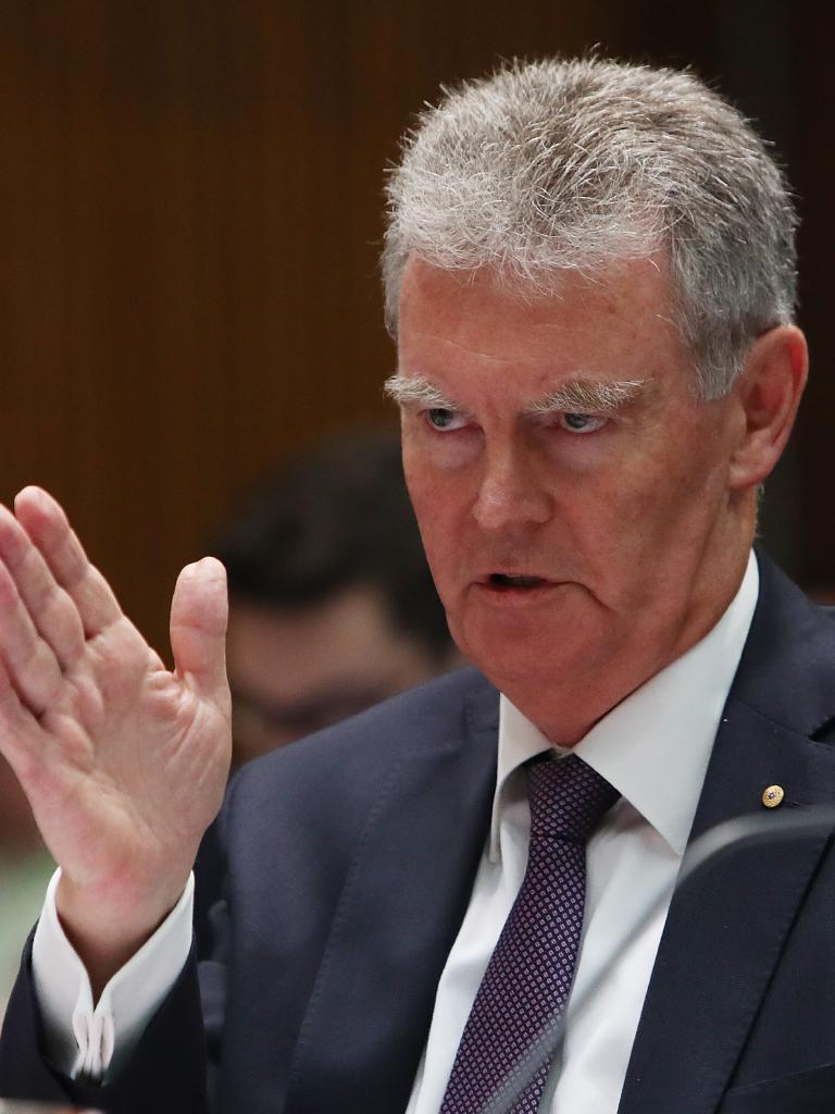 "Director-General of ASIO Duncan Lewis said asylum seeker assessments could take ""months and months"" to complete. Picture: Kym Smith"