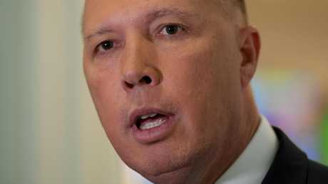 Home Affairs Minister Peter Dutton. Picture: Getty Images