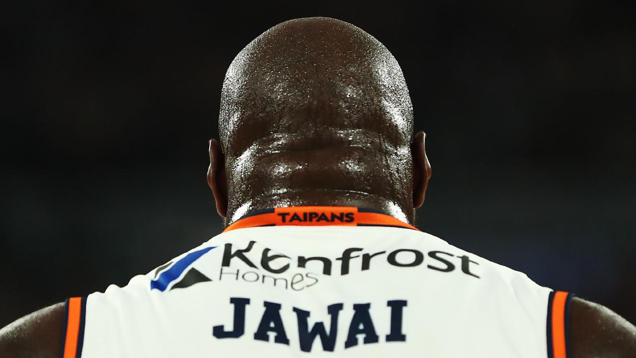 MELBOURNE, AUSTRALIA — FEBRUARY 14: Nate Jawai of the Taipans is seen from behind during the round 18 NBL match between Melbourne United and the Cairns Taipans at Hisense Arena on February 14, 2019 in Melbourne, Australia. (Photo by Michael Dodge/Getty Images)