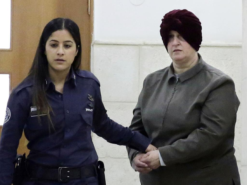 Malka Leifer during a previous court hearing in Jerusalem.The case has been bogged down for years in the court. Picture: AP