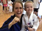 The martial arts class teaching kids more than martial arts