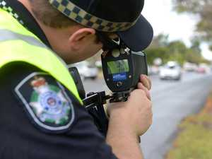 Rider caught 52km/h above speed limit