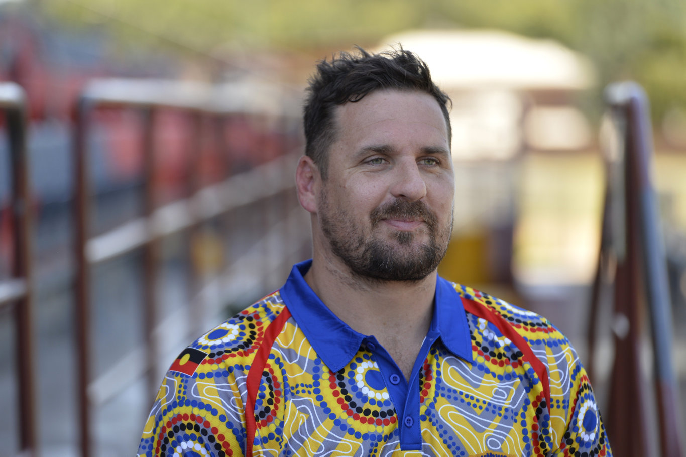 The former NRL star appeared briefly in a Toowoomba court.