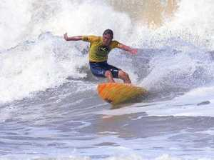 Boon for surfers as Oma whips up waves