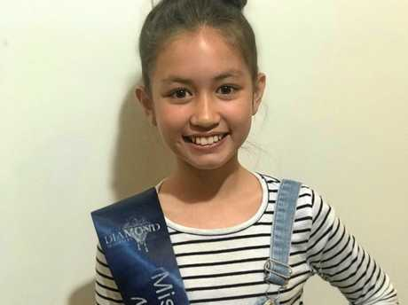 Serenity Charles is competing in the Miss and Mr Diamond Australia Pageant and is asking for help to raise fund and awareness for the Heart Kids Foundation.
