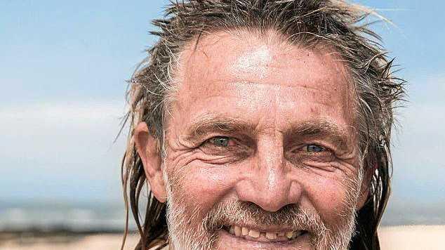 Raz Burtonwood missing in the surf at Ballina
