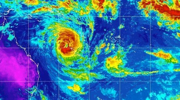 Oma brews up a significant threat to the south east Queensland coast.